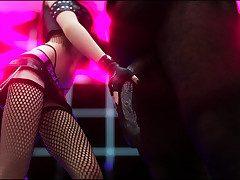 Dirty girl taking a fat insidious dicks - Avril  by Vaesark