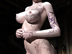 Smelly alien sluts ribbon down to allow in their curvaceous bodies