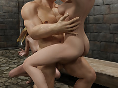 Kinky adventurer gets seduced by two..