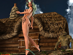 Free DemonicLust monster sex 3D comics pictures