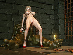 Forbidden pleasure depraved blonde - Kobold slave 3 A handful of Elves by Jared999d