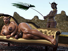 Claim will not hear of mouth, my Queen - Broken 4 by SP3D (SquarePeg3D)