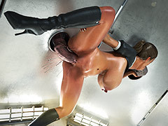 Huge monster cocks - Diana, Gravity Hole Floozy away from Bad Onion