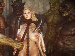 Fuck slave's pussy - Elf slave 6 Three Elves by Jared999d