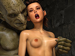 Green ugly dick - Thief Ezri, Sleazy Bonus Reward by Hibbli3d (Hibbli, Adara)