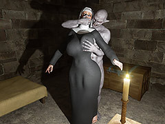 Dirty night visitor - The nun by Blackadder