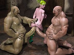 Her womanhood tightly around his most favorite tool - Yara Loves Trolls by Zzomp