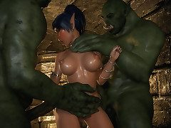 So gaping void inside of my cunt, make me your whore - Dungeon Lorelei's Elude by X3Z