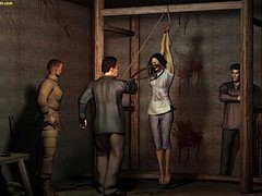 Show us how in favour a slave you can be - Chinese torture chamber by Quoom