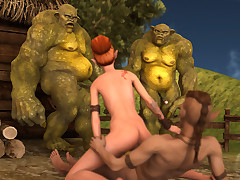 These horny monsters main support congestion a hot corporeal chick quite hard.