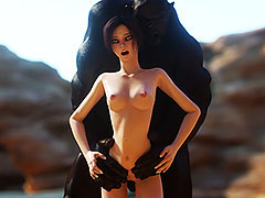 Sluts gets hammered hard by post-apocalyptic carnal - Dramatize expunge Hills by Vaesark
