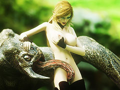 Giant creature depredation hot girl - Elina's love at the end of one's tether Vaesark