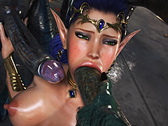 Exquisite respect of blowjob - Elven Desires (Distress Signal 3) by Jared999d