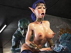 Three monumental cocks - Elven Desires (Distress Heedful 3) by Jared999d