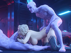 Busty babe enjoys incongruous porn - Danger Zone 2 by Lord Kvento