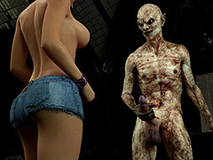 Nightmare monster wrecks a cute petite girl - Carinas Night Trips 2 by 3DZEN